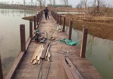 徐州潘安湖项目 选购绿华户外塑木地板