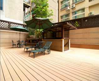 绿华塑木值得信赖的广东塑木地板供应商