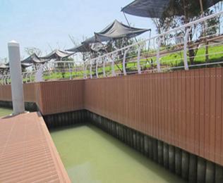 高效的四川塑木地板生产厂家首选绿华塑木