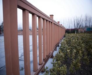 重庆塑木栏杆项目工程案例-绿华塑木