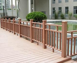 户外塑木栏杆 首选绿华塑木
