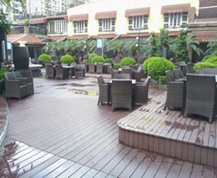 专业的江苏塑木地板厂家就选绿华塑木