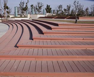 广场塑木地板