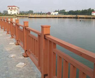 采购河道塑木栏杆首选绿华塑木
