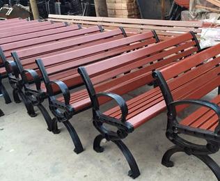 绿华塑木椅条厂家直供塑木椅条