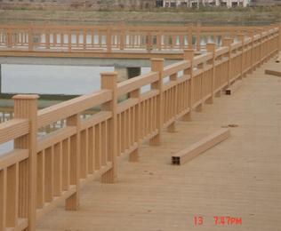 采购宿迁塑木栏杆就选绿华塑木