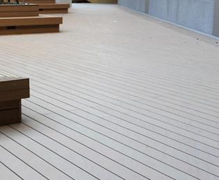 绿华塑木优质的南通塑木地板供应商