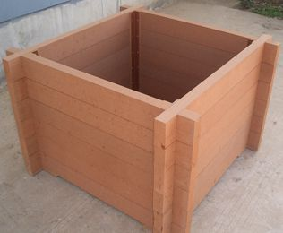 找塑木花箱厂家 江苏绿华塑木您的不二选择