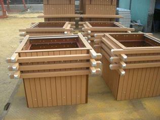吉林订购绿华环保塑木花箱