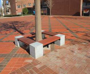 绿华北京塑木公园椅,总有一款适合您