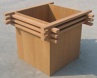 定制塑木花箱