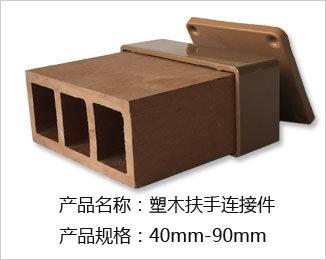 塑木栏杆连接件40-90(压铸铝材质)