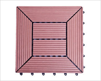 塑木拼装地板1